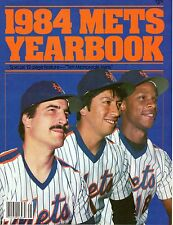 1984  New York Mets Yearbook Baseball magazine Keith Hernandez Dwight Gooden~VG