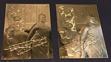 SHAQUILLE O'NEAL 1996 Classic LOT of ( 2 ) GOLD 23 Kt Card 23KT #d /20000 MAGIC