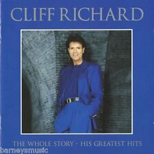 CLIFF RICHARD ( NEW SEALED 2 CD SET ) THE WHOLE STORY GREATEST HITS VERY BEST OF