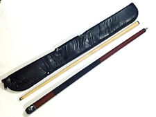 "POWERGLIDE 2 PC 57"" ROGUE AMERICAN POOL CUE WITH SOFT CASE. 12mm TIP"