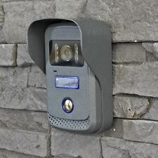 Kamera Zusatz Außenstation Metall für Video Türsprechanlage 4 Draht Türklingel