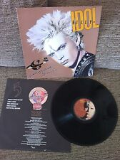 "BILLY IDOL whiplash smile LP 12"" VG+/VG+ SPANISH EDIT chrysalis CDL1514 INNER SL"