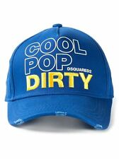 DSQUARED2 'Cool Pop Dirty' 15 minutes of Fame cap hat RARE GENUINE