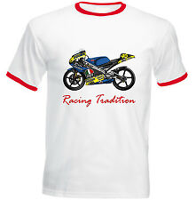 APRILIA RS 250 1998 RACING TRADITION - NEW COTTON TSHIRT - ALL SIZES IN STOCK