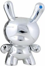 "Siemens Too Many Cell Phones Silver 8"" Dunny by KIDROBOT (2006) New"