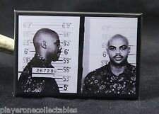 "Charles Barkley Mugshot 2"" X 3"" Fridge / Locker Magnet. The Doors"
