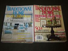 2000'S TRADITIONAL HOME MAGAZINE LOT OF 16 - NICE COVERS & PHOTOS - R 81