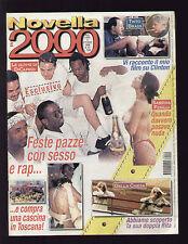 NOVELLA 2000 40/1998 MARTINA COLOMBARI CLOONEY JEAN RENO FERILLI SHARON STONE
