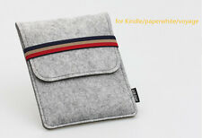 T New Wool Felt Case Cover Sleeve Pouch Box Bag for Kindle 499 Kindle Paperwhite