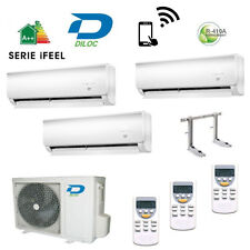 AIR CONDITIONING TRIAL SPLIT DILOC INVERTER 9+9+9 A+ COMPRESSOR SHARP/PANASONIC