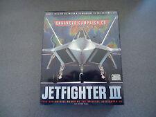 JetFighter III Add-On Enhanced Campaign CD  MS-DOS 5.0  NIB  NEW  Big Box