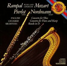 Mozart: Concertro for Flute; Concerto for Oboe; Rondo for Flute Rampal Minty CD