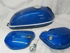 Suzuki T305 T350 show quality fuel tank and cover set 1968-70