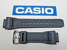 Genuine Casio G-Shock Mudman G-9300 watch band strap black resin rubber