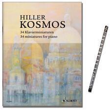 Kosmos - 34 Klavierminiaturen Hiller W. - Schott - ED22483 - 9790001159951