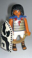 Playmobil Egypte Rome Soldat Égyptien avec Bouclier,Accessoires,Soldats,Guerrier