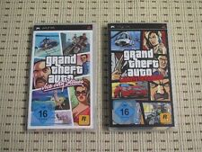 GTA grand theft auto Double Pack Vice City Stories + Liberty City para Sony PSP