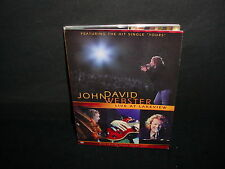 John David Webster Live At Lakeview Special Guest Jeremy Camp DVD Video Music