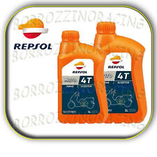 2 LITRI OLIO MOTORE LUBRIFICANTE REPSOL 5W40 FULLY SYNTHETIC 4T SCOOTER