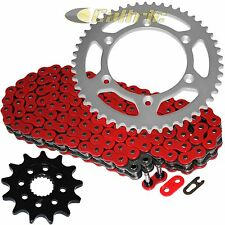 RED O-RING Drive Chain & Sprockets Kit Fits YAMAHA YZ250F 4-Stroke 2001-2006
