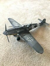 1:18  WWII German Messerschmitt BF-109 fighter plane model