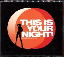 THIS IS YOUR NIGHT - FUNK / LATINO / DANCE MUSIC 80's / ZOUK - 4 CD COMPILATION