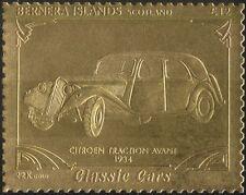 Bernera (L) 22K GOLD Car/Citroen Traction Avant/Motoring/Transport 1v s/a  s6048