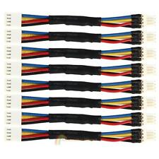 8pcs PC Fan Speed Reduce 4 Pin Power Resistor Male to Female Cable Adapter R1BO
