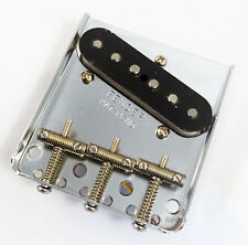 Genuine Fender '62 Reissue Custom Telecaster Tele Bridge & Pickup Assembly Set