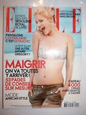 magazine de Mode ELLE #3195 26 mars 2007 cover Julie Ordon
