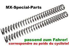 KTM SXF 350 SX-F # RESSORTS FOURCHE avec taux d'élasticité correspondant choisir