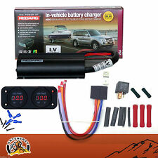 REDARC BCDC1225LV DUAL BATTERY ISOLATOR RK1260 KIT DC TO DC CHARGER MPPT SOLAR