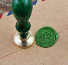 Tree of life wax seal stamp spring wedding birthday invitation brass Stamp
