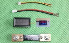 100V 100A DC  LED Voltmeter Ammeter Amp voltage 12v 24v 48v battery Meter +shunt