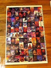 uncut sheet of vintage 1991 Boris Vallejo fantasy art trading cards Card 90 RARE