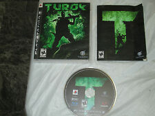 Turok (PlayStation 3, PS3) complete