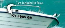 "BOAT REGISTRATION DECALS $12.99CAN  (16) 3""LICENSE NUMBERS & LETTERS FREE SHIP"
