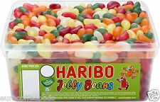 Haribo Sweets Tub Jelly Beans 600 Pieces