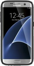 Speck Products Samsung Galaxy S7 Edge Case, CandyShell Grip Case (White/Black)