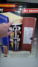 HIDE A KEY Motorized 48 pc Carousel SAFE Disguised as BOOK Home Office Security