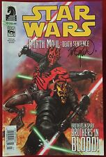 Star Wars: Darth Maul - Death Sentence #2 - Bookstore Variant - DHC - Signed