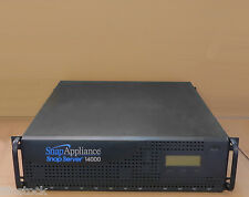 Snap Appliance Snap Server 14000 2.75TB NAS Gigabit Ethernet File Server RAID