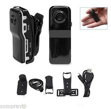 MINI CAMARA DIGITAL MD80 HD DV DVR VIDEO DEPORTE ESPIA PARA MOTO CASCO BICICLETA