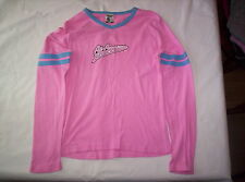 "Girl's pink ""All-American Idol"" pull over top sz L"