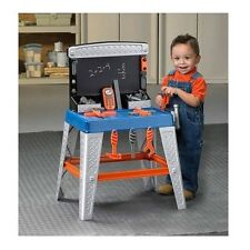 Tool Bench Toy Set Kids Boys Children Fun Play Workshop Hammer Plastic Gift New
