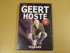 DVD / GEERT HOSTE - VULKAAN