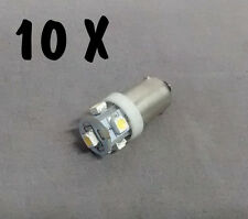 N. 10 LED LAMPE LIGHT BULBS TYPE GE44 6,3V 5SMD FOR ALL FLIPPER PINBALL