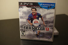 FIFA Soccer 13 (Sony Playstation 3, 2012) *New / Factory Sealed