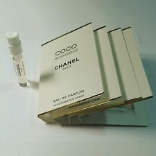 CHANEL COCO MADEMOISELLE- 4x PARFUM SPRAY SAMPLE VIAL - 1.5ml