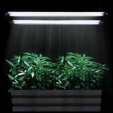 "24"" T5 Grow Light Hydroponics 4 Lamps 6500K Bulbs 2 ft Veg HO Fluorescent Kits"